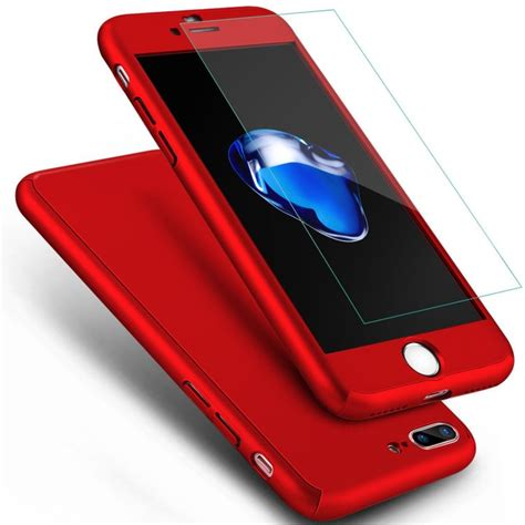 360 Protect Iphone 6 6g 6s Slim Casing 360 degree protection cover for apple iphone 6s with tempered glass from category cases