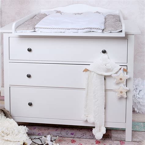Dresser Changing Table Ikea Quot Cloud 7 Quot Changing Table Top Changing Attachment For Ikea Hemnes Dresser Ebay