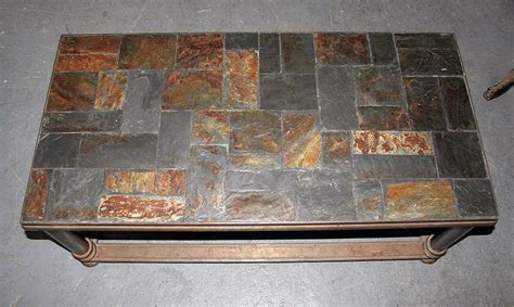 Slate Tile Coffee Table Slate Coffee Table Design Images Photos Pictures