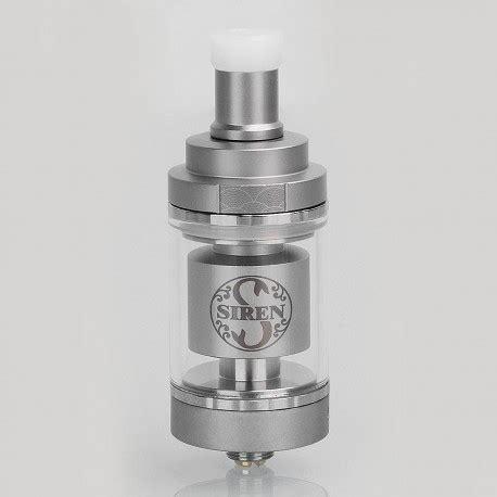 Siren 2 Rta 22mm Authentic By Digiflavor Atomizer For Vaporizer Vape authentic digiflavor siren v2 mtl rta silver ss 2ml 22mm atomizer