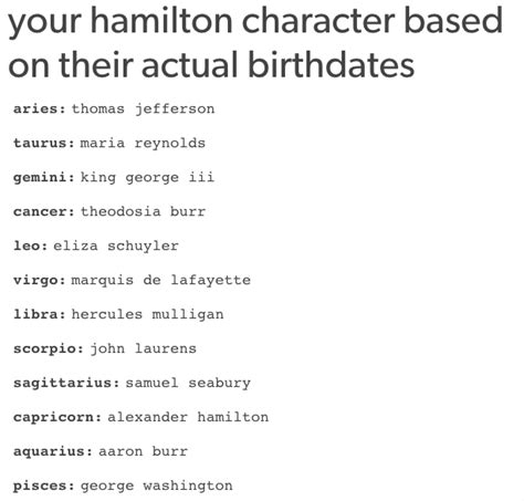 come one on laurence lyrics 13 quot hamilton quot horoscopes from you didn t you
