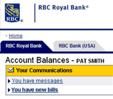 royal bank services transfer money to and from my rbc centura account