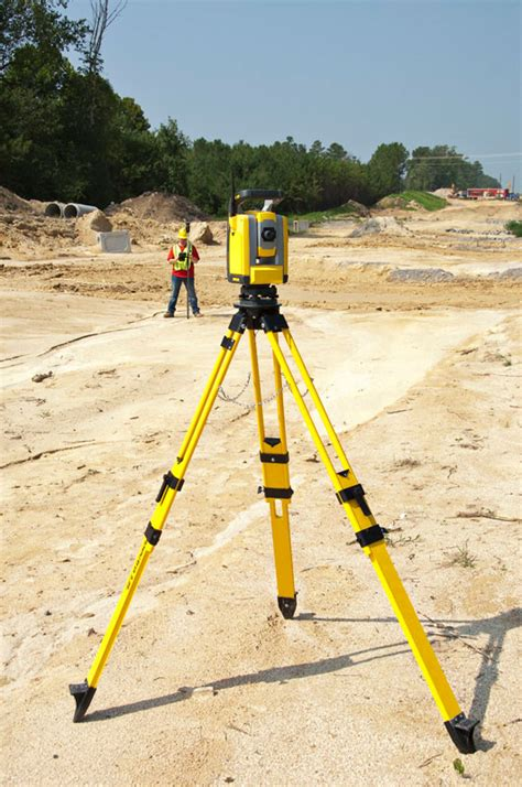 layout building using total station sps620 and sps720 robotic total stations trimble civil