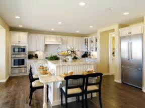 Eat In Island Kitchen Kitchen Island Design Ideas Pictures Options Tips Hgtv
