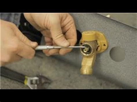 How To Fix Outside Faucet Handle by Fixing Faucets How To Repair A Leak In A Proof
