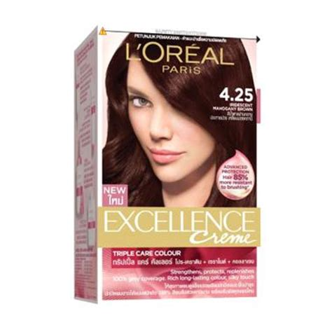 L Oreal Excellence Creme Cat Rambut jual loreal excellence pro keratin 4 25 cat rambut
