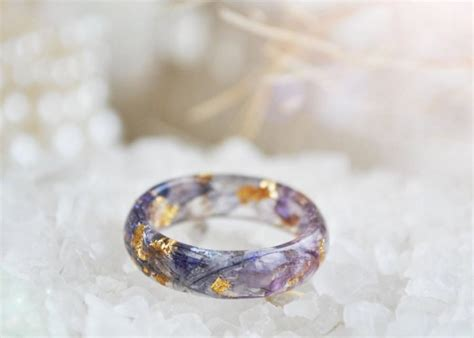nature rings resin nature ring nature inspired
