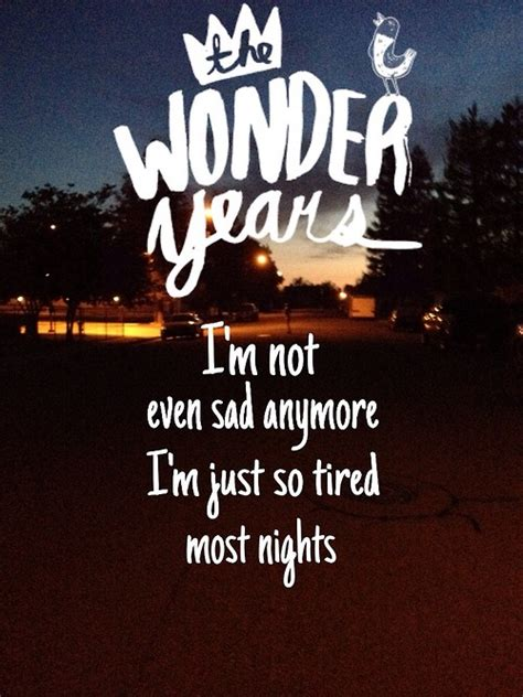 theme song wonder years blink 182 pop punk quotes quotesgram