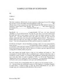 Financial Aid Appeal Letter Suspension Best Photos Of Business Letters For Employee Suspensions
