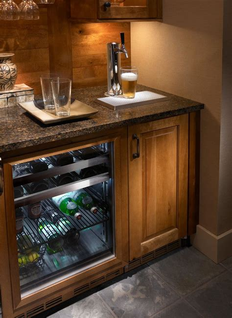 superb mini kegerator in home theater milwaukee with built