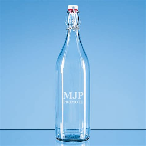 1l swing top bottles 1 litre round swing top glass bottles personalised glass