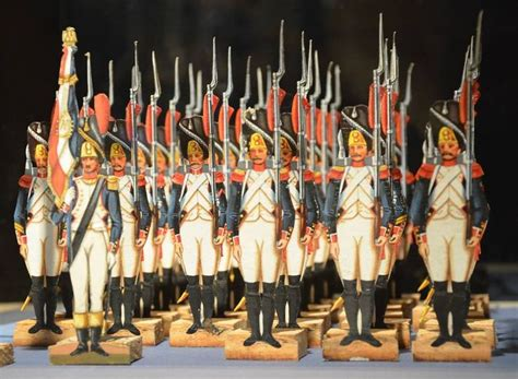 How To Make Paper Soldiers - grenadiers d infanterie de ligne paper soldiers