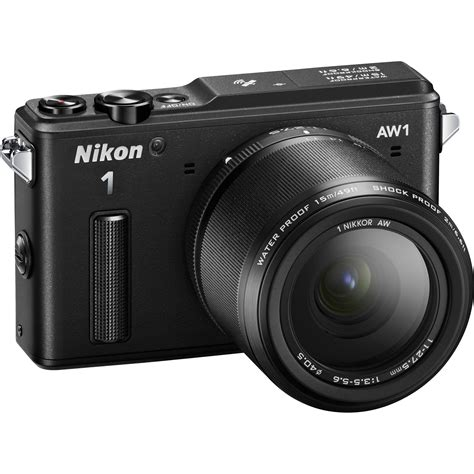 nikon 1 aw1 mirrorless digital with 11 27 5mm lens 27665