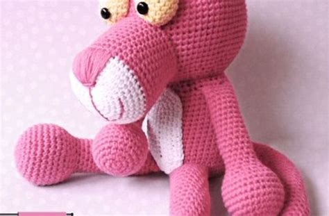 knitting pattern pink panther pink panther crocheted by amigurumis fan club free