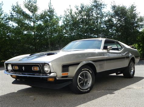1971 mustang mach 1 for sale light pewter metallic 1971 ford mustang mach 1 for sale