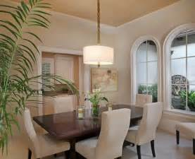 Pendant Light Dining Room by Dramatic Drum Pendant Lighting In Your Interiors