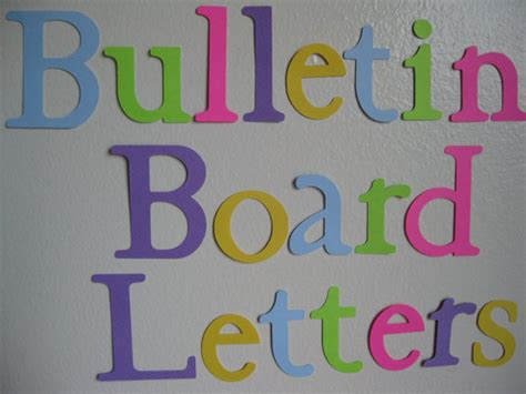 letter templates for bulletin boards best photos of large printable bulletin board letters