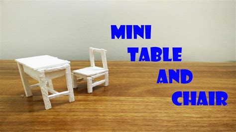 diy table and chairs diy mini classroom tables and chairs made out of popsicle