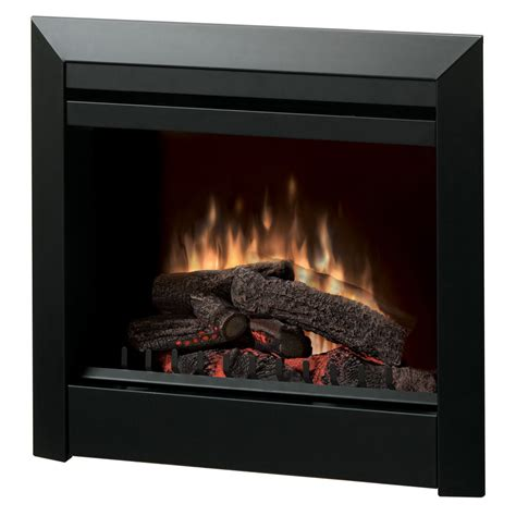 Lowes Dimplex Electric Fireplace by Shop Dimplex 29 8 In W 4 692 Btu Black Metal Fan Forced