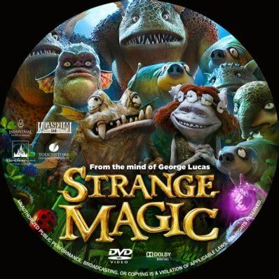Dvd Strange Magic strange magic dvd covers labels by covercity