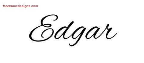 edgar archives page 2 of 2 free name designs