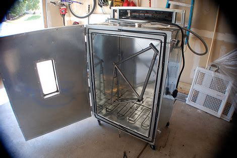 powder coating at home hackaday