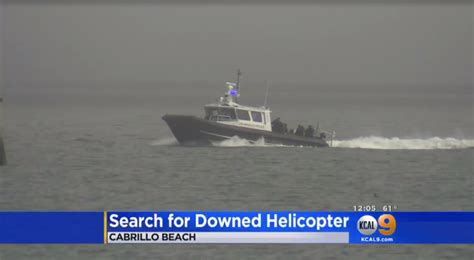 bodies of water near los angeles los angeles helicopter crash 2 bodies pulled from sunken wreckage cbs news