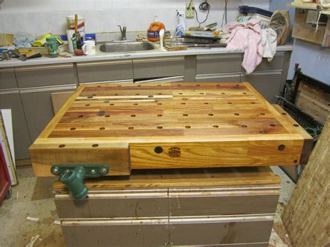 wooden work bench tops build wooden wood workbench top plans download wood veneer