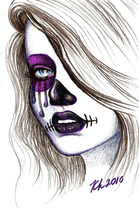 day of the dead by knezak on deviantart