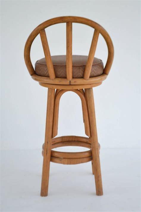 set of four bent bamboo bar stools at 1stdibs