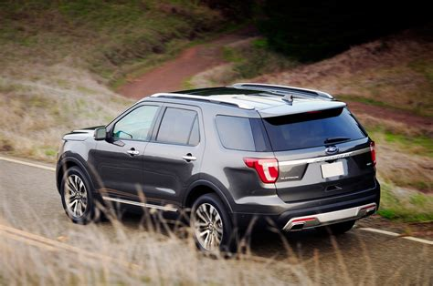 ford jeep 2016 2016 ford explorer reviews and rating motor trend