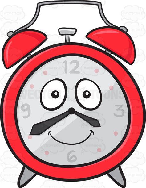 happy light alarm clock smiling and happy alarm clock emoji cartoon clipart