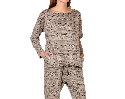 womens patterned jumpers grey jumper round neck jumper patterned jumper womens