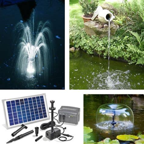 kit pompe solaire bassin napoli led sur solairepratique jets d eau et quipements de