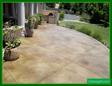 How To Clean Colored Concrete Patio by Color To Cement Surfaces Houses Flooring Picture Ideas