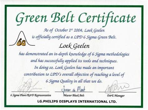six sigma black belt certificate template engineering black belt certification 2017 2018 2019