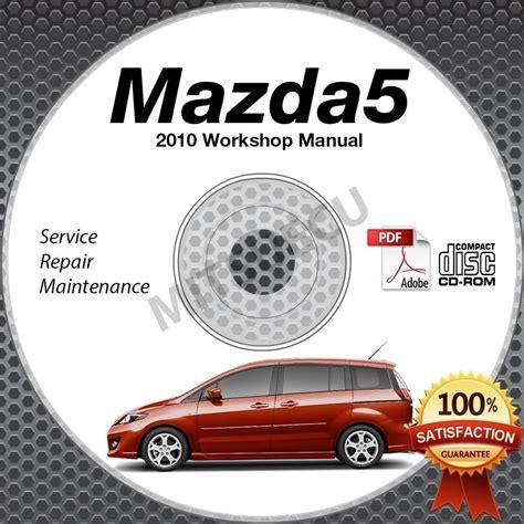 free auto repair manuals 2010 mazda mazda5 instrument cluster 2010 mazda5 service manual cd rom workshop repair 2 3l mazda 5 new