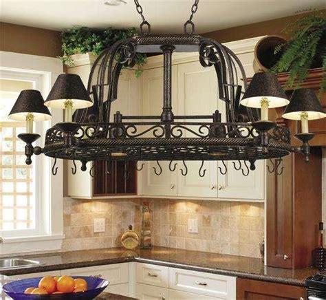 Kitchen Chandeliers Wrought Iron Lighting Fixtures Kitchen
