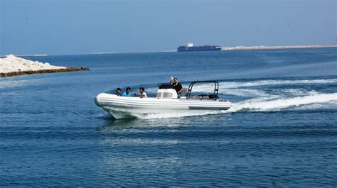 rib boat uae asis boat tender used on one of the biggest yachts in the