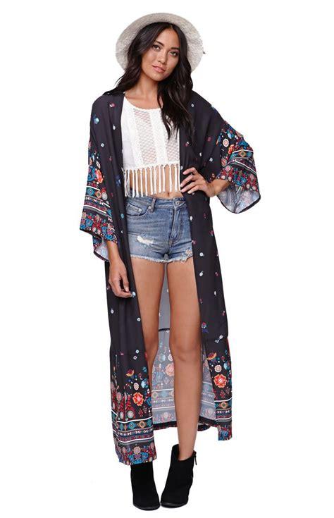 Kimono Maxy kendall maxi kimono at pacsun