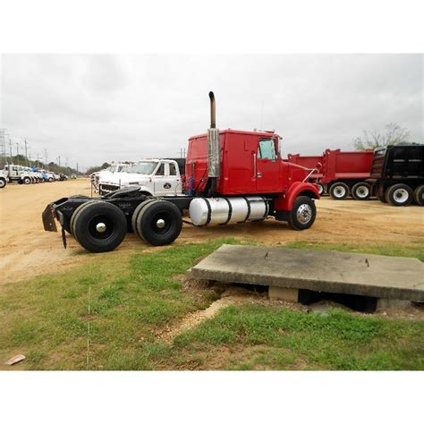 white volvo truck 1987 volvo white t a truck tractor j m wood auction