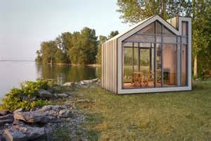 Designing A Cabin by Prefab Bunkie Cute Little House Shaped Sleeping Cottage