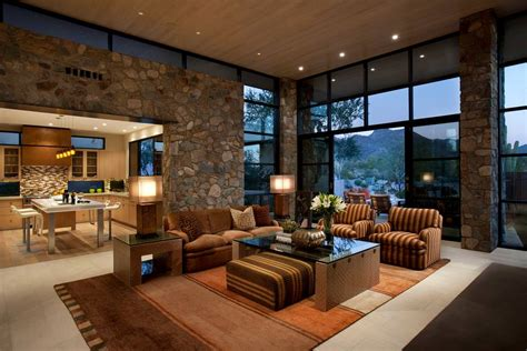 southwestern living rooms 24 accent wall designs decor ideas design trends