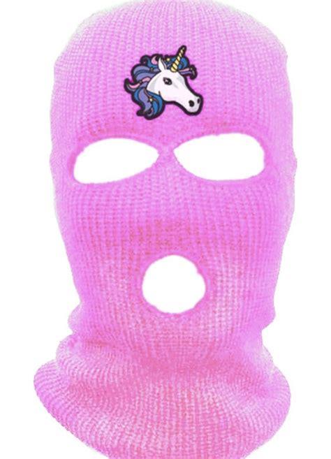 Rosy Puff breaker puff puff pink ski mask by springbreakbitches