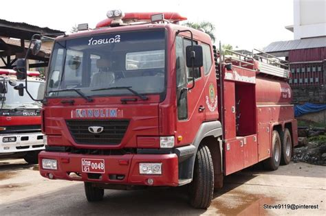 Lu Emergency Nagoya truck vientiane laos firetrucks ambulance trucks and