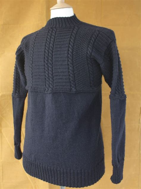 knitting pattern gansey sweater withernsea gansey wool sweater navy products wool and