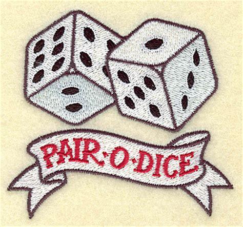 pair of dice tattoo dice images designs