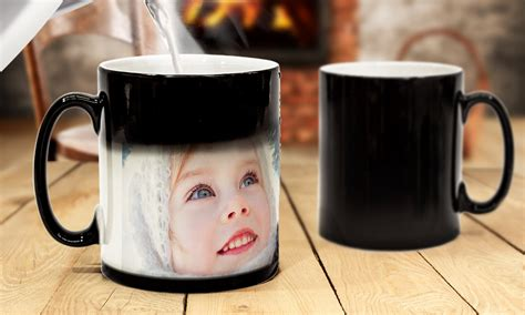 personalised magic mug cup heat changing with your photo