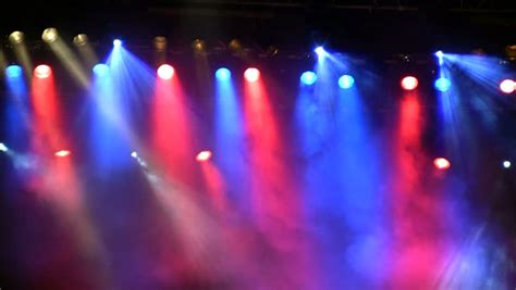 Concert Lights by Stage Light Stock Footage 493483