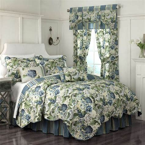 Bed Cover Set Impression Porcelain Orange Uk180160 Shop Waverly Floral Flourish Bed Linens The Home